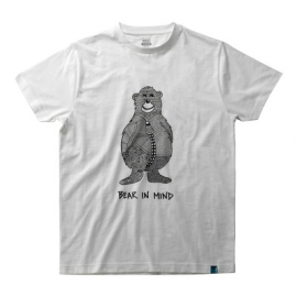 T-shirt with bear logo and BEAR IN MIND